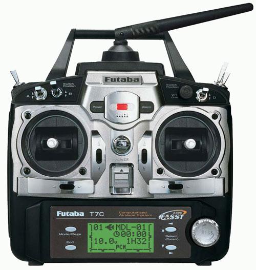 رادیو کنترل FUTABA Channel-7
